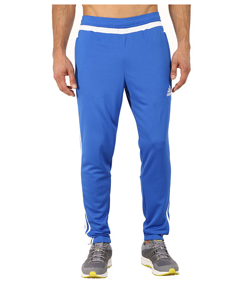 adidas - Tiro 15 Training Pant (Blue/White) Men's Workout