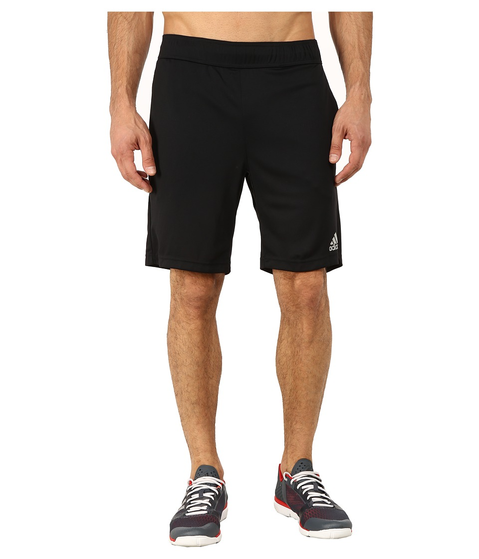 adidas - Barricade Climachill Shorts (Black/MGH Solid Grey) Men's Workout