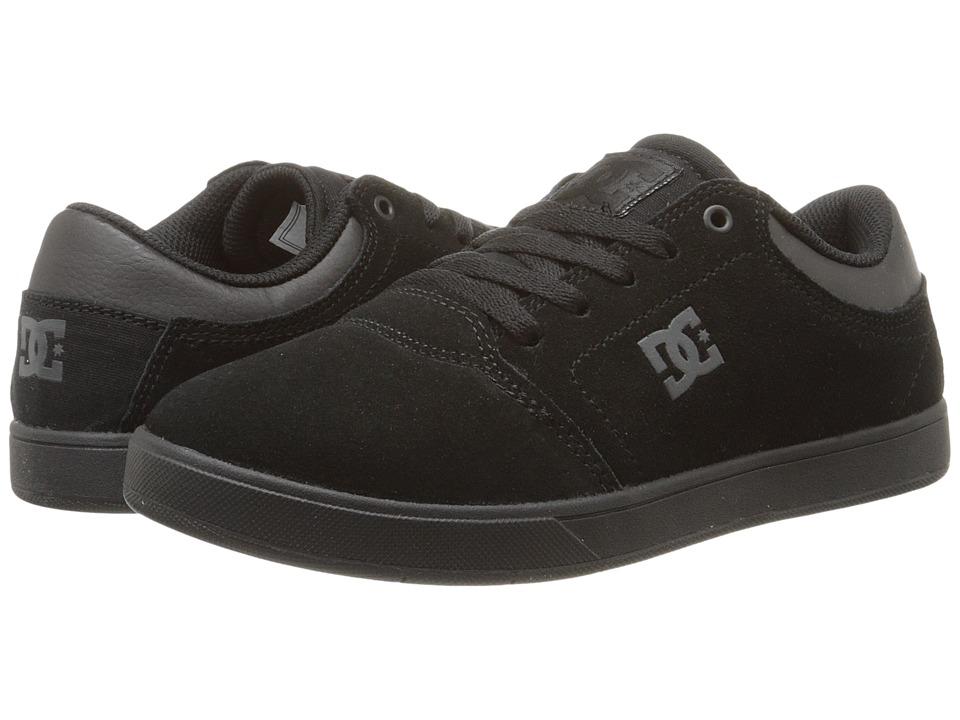 DC Kids - Crisis (Big Kid) (Black/Black/Black) Boys Shoes