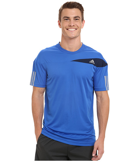 adidas - Response Tee (Blue/Silver/ Collegiate Navy) Men