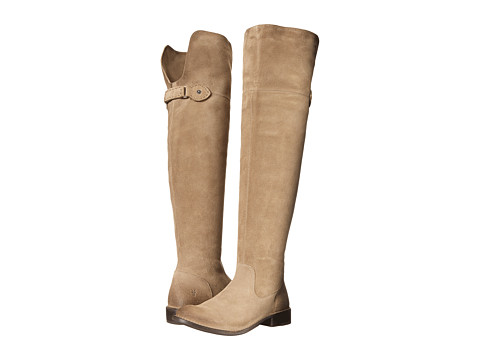 Frye - Shirley Over-The-Knee Riding (Ash Oiled Suede) Women's Pull-on Boots
