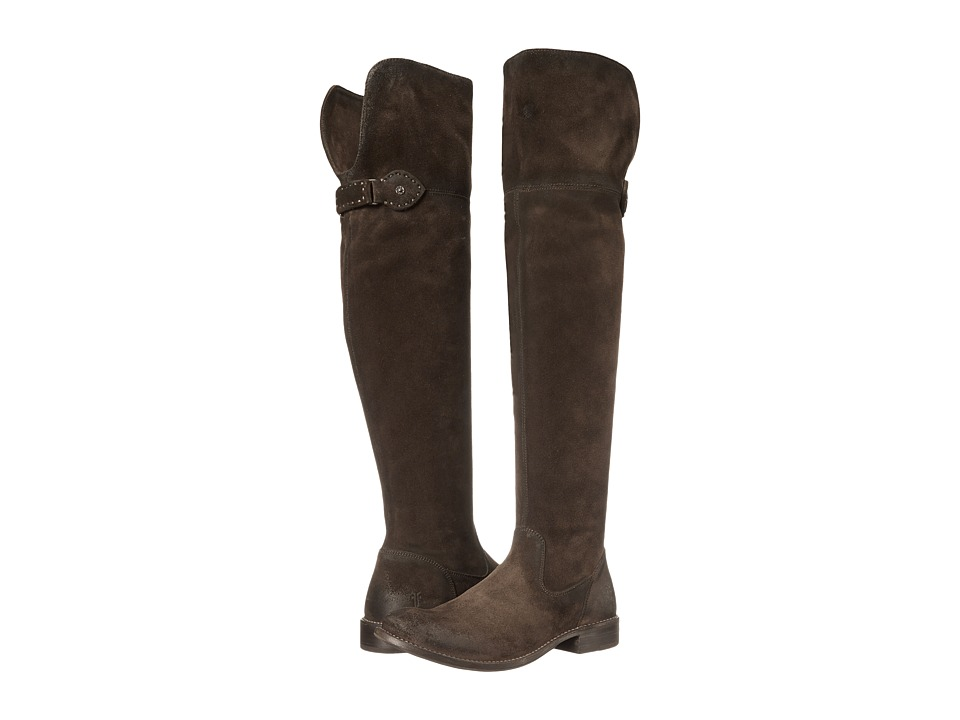 Frye - Shirley Over-The-Knee Riding (Fatigue Oiled Suede) Women's Pull-on Boots