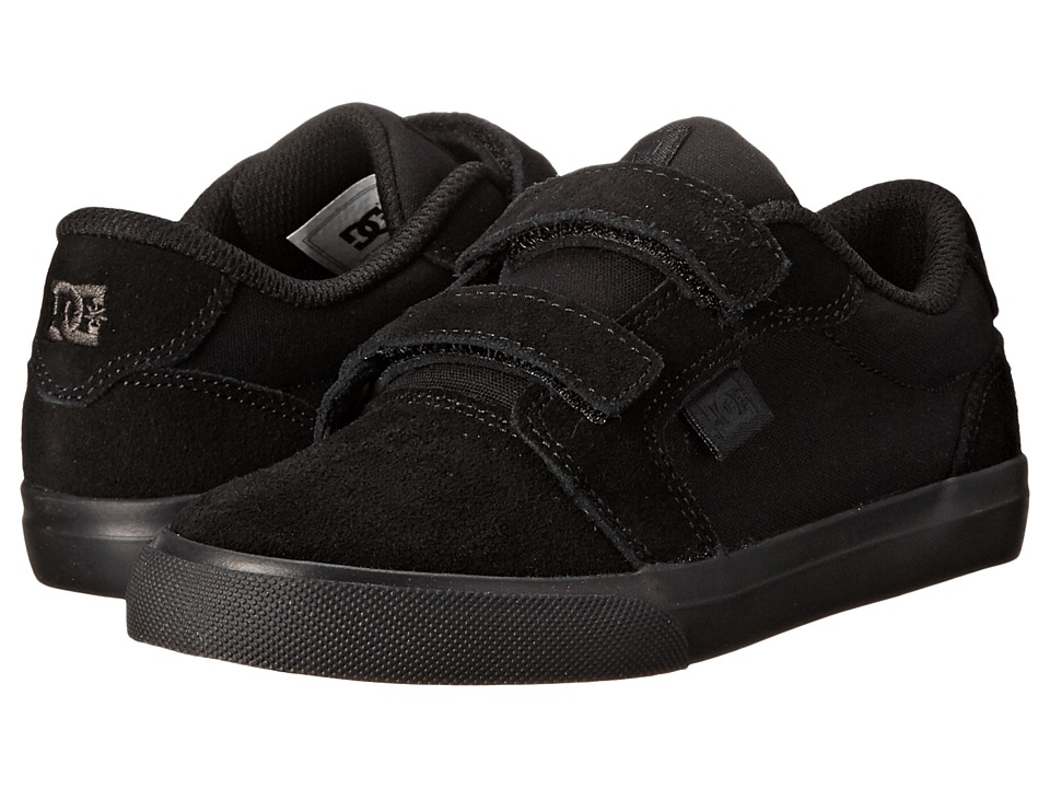 DC Kids - Anvil V (Little Kid) (Black/Black) Boys Shoes