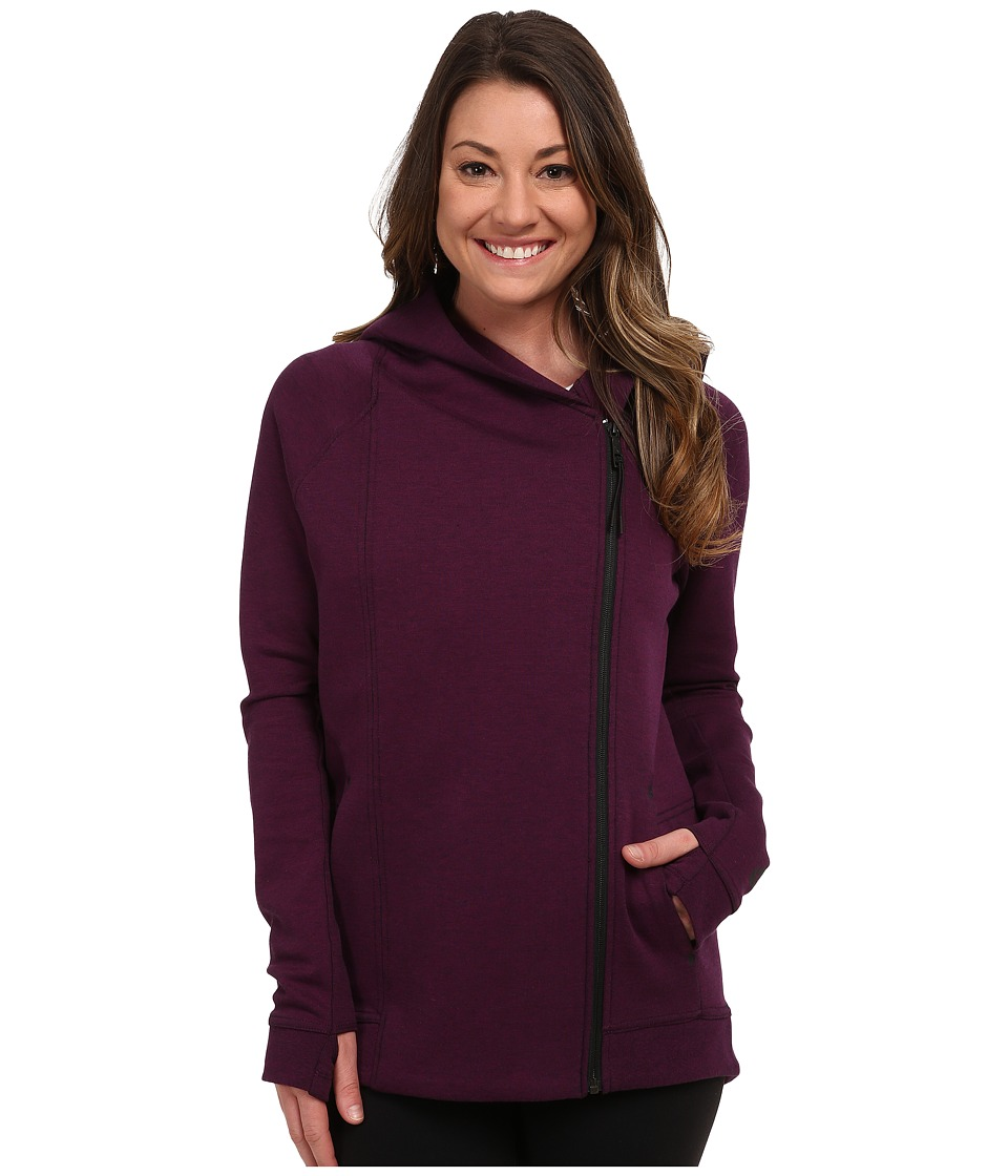 Nike - Tech Fleece Cape (Mulberry/Heather/Black) Women's Jacket