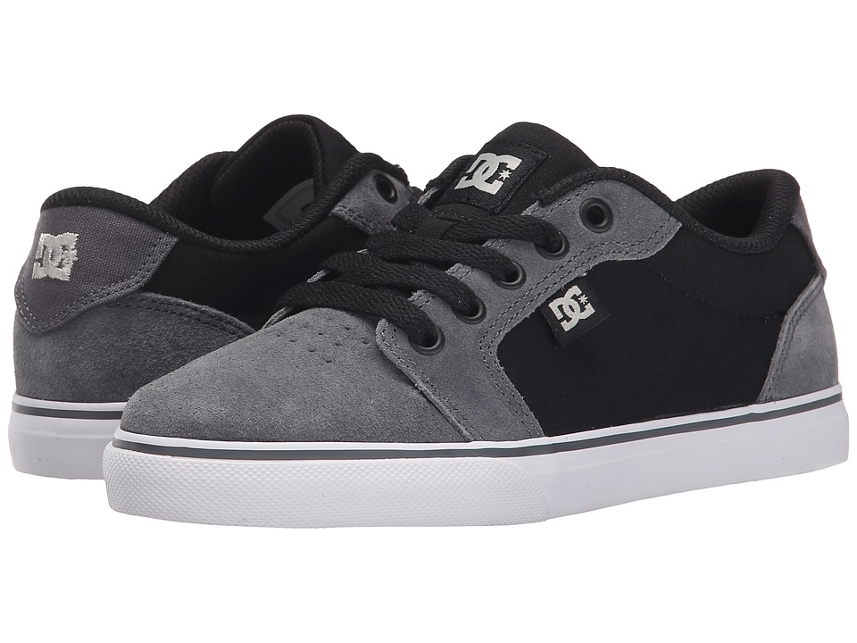 DC Kids - Anvil (Little Kid) (Grey/Black/Grey) Boys Shoes