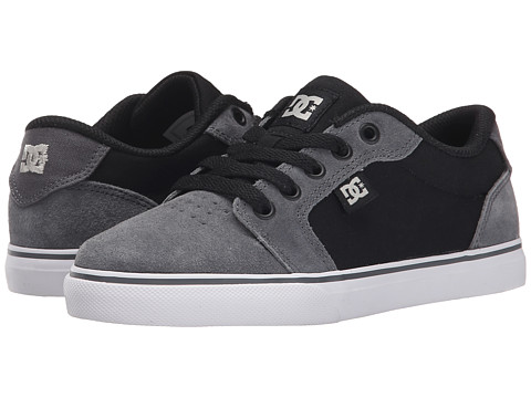 DC Kids - Anvil (Little Kid) (Grey/Black/Grey) Boys Shoes
