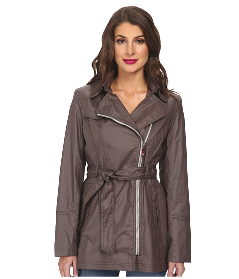 Vince Camuto - Trench H8121 (Graphite) Women's Coat