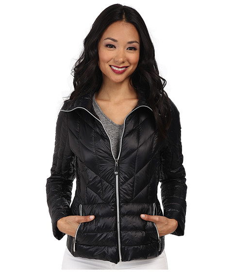 Vince Camuto - Light Weight Packable Down Coat (Black) Women