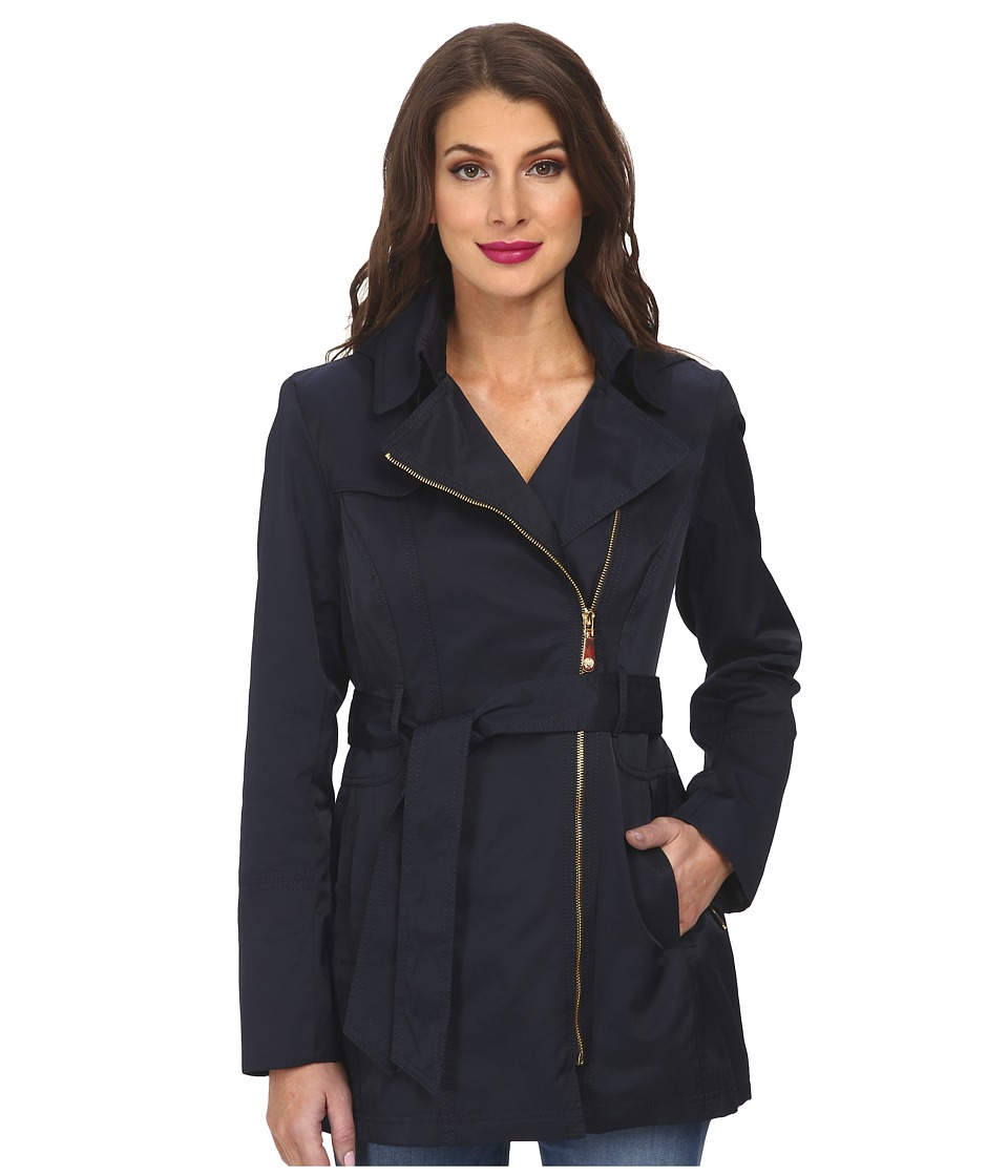 Vince Camuto - Trench H8421 (Navy) Women's Coat