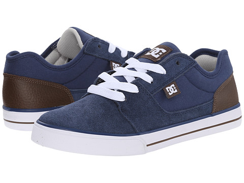DC Kids - Tonik SE (Big Kid) (Navy/Dark Chocolate) Boys Shoes