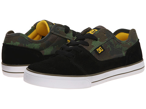 DC Kids - Tonik SE (Big Kid) (Black Camo) Boys Shoes