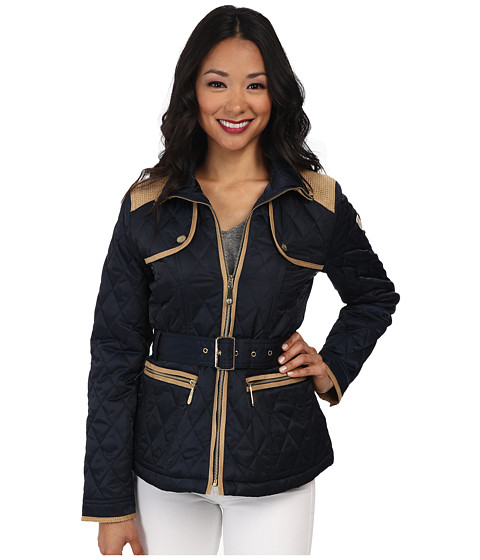 Vince Camuto - Quilted Coat (Navy) Women