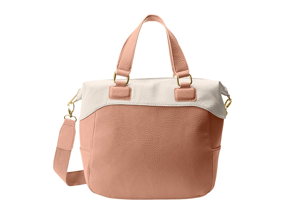 BCBGeneration - The Tribute Bag (Desert Rose Combo) Tote Handbags