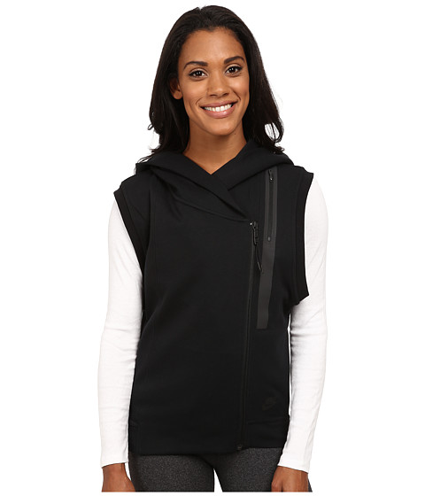 Nike - Tech Fleece Vest (Black/Black) Women