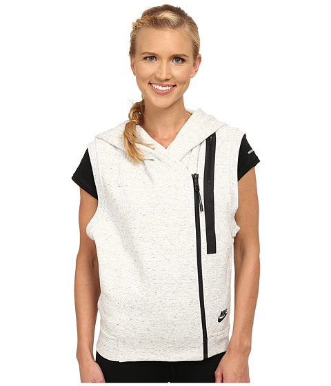 Nike - Tech Fleece Vest (Summit White/Heather/Black) Women