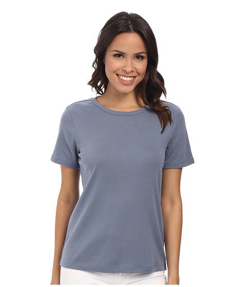 Pendleton - S/S Rib Tee (Blue Ash) Women's T Shirt