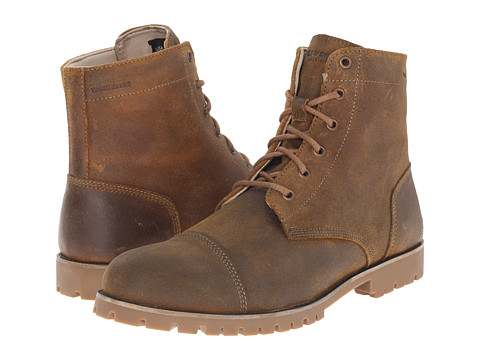 Wolverine - Wilbur Waterproof Leather Boot (Brown Leather) Men's Work Boots