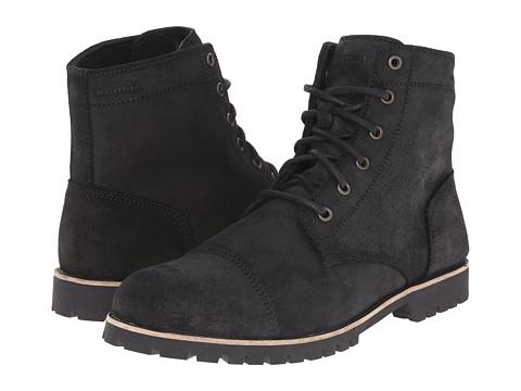 Wolverine - Wilbur Waterproof Leather Boot (Black Leather) Men's Work Boots
