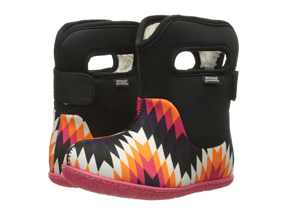 Bogs Kids - Classic Native (Toddler) (Black Multi) Girls Shoes