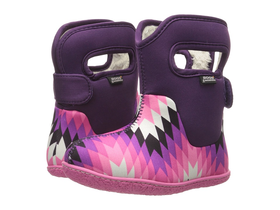 Bogs Kids - Classic Native (Toddler) (Purple Multi) Girls Shoes