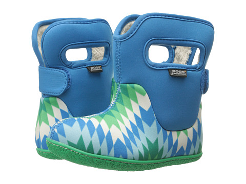 Bogs Kids - Classic Native (Toddler) (Electric Blue Multi) Girls Shoes