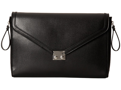 BCBGeneration - The Sorry I'm Late Clutch (Black) Clutch Handbags