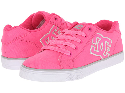 DC Kids - Chelsea TX (Little Kid) (Hot Pink) Girls Shoes