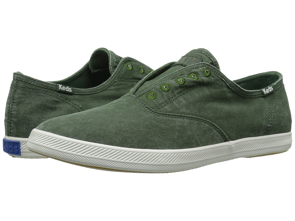 Keds - Chillax (Forest Green) Men's Slip on Shoes