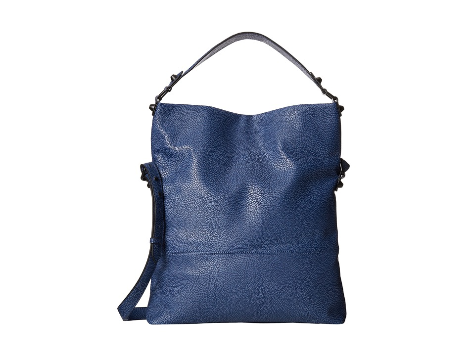 BCBGeneration - The Almost Famous Hobo (Navy) Shoulder Handbags