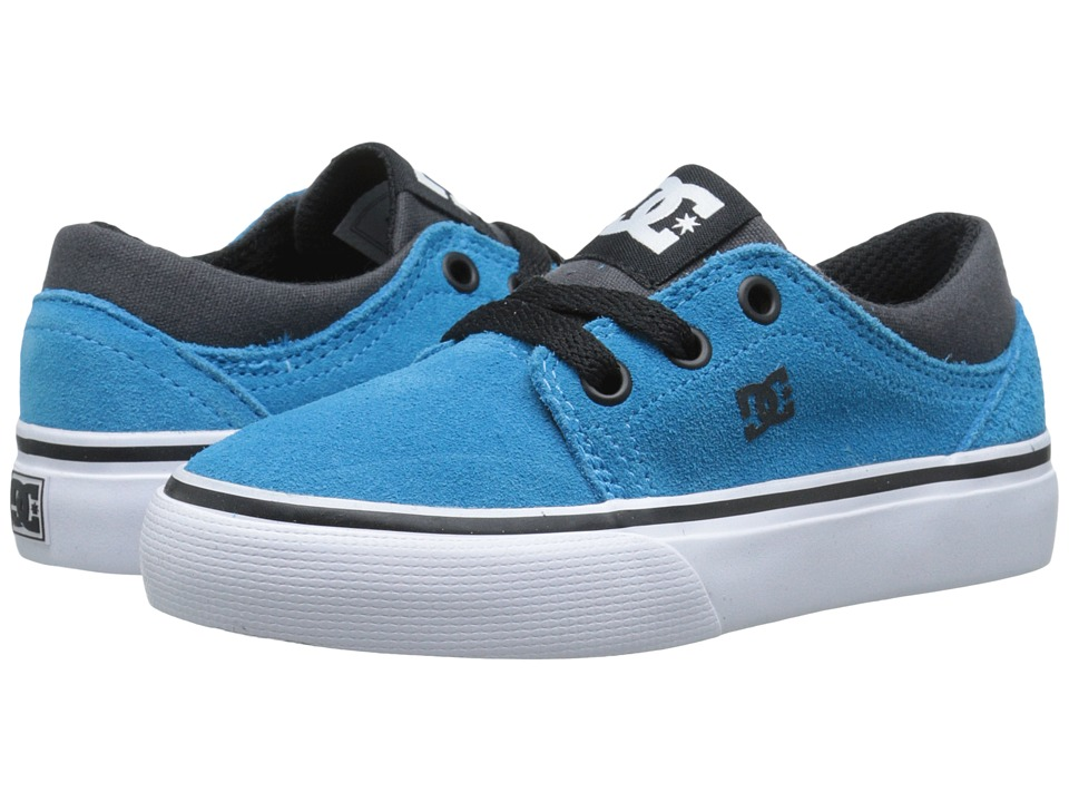 DC Kids - Trase SD (Little Kid) (Blue/Black) Boys Shoes