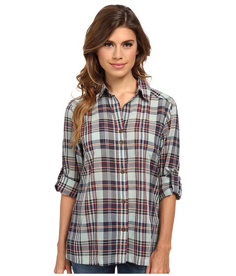 Pendleton - Astoria Plaid Shirt (Mystic Blue Plaid) Women's Long Sleeve Button Up
