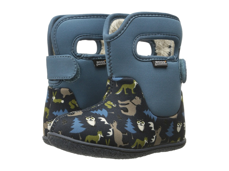 Bogs Kids - Classic Woodland (Toddler) (Navy Multi) Boys Shoes