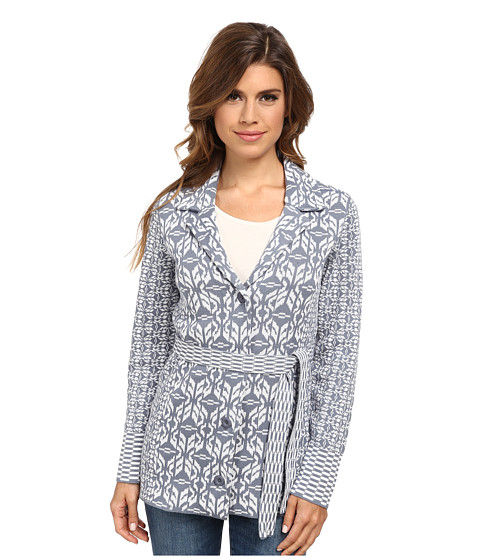 Pendleton - Pattern Play Cardigan (Blue Ash/Ivory Multi) Women
