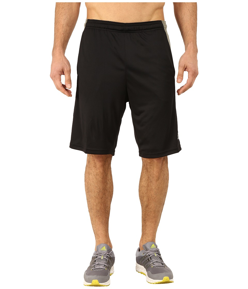 adidas - Aeroknit Short (Black/Base Green) Men's Shorts