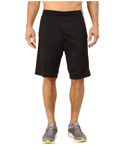 adidas - Aeroknit Short (Black/Base Green) Men's Shorts