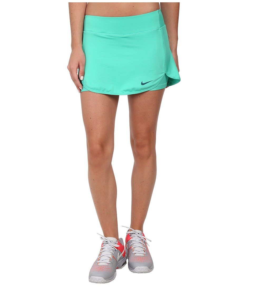 Nike - Straight Court Skort (Emerald Glow/Teal) Women's Skort