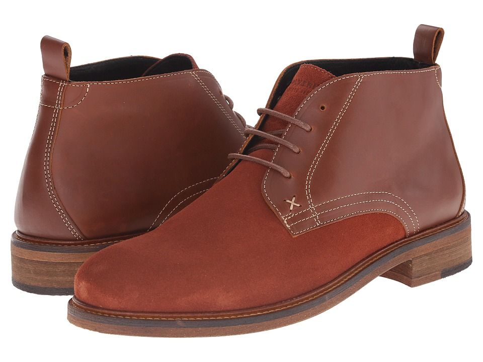 Wolverine - Hensel Desert Boot (Brown Leather/Suede) Men's Boots