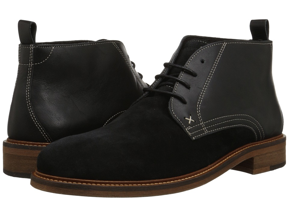 Wolverine - Hensel Desert Boot (Black Leather) Men's Boots