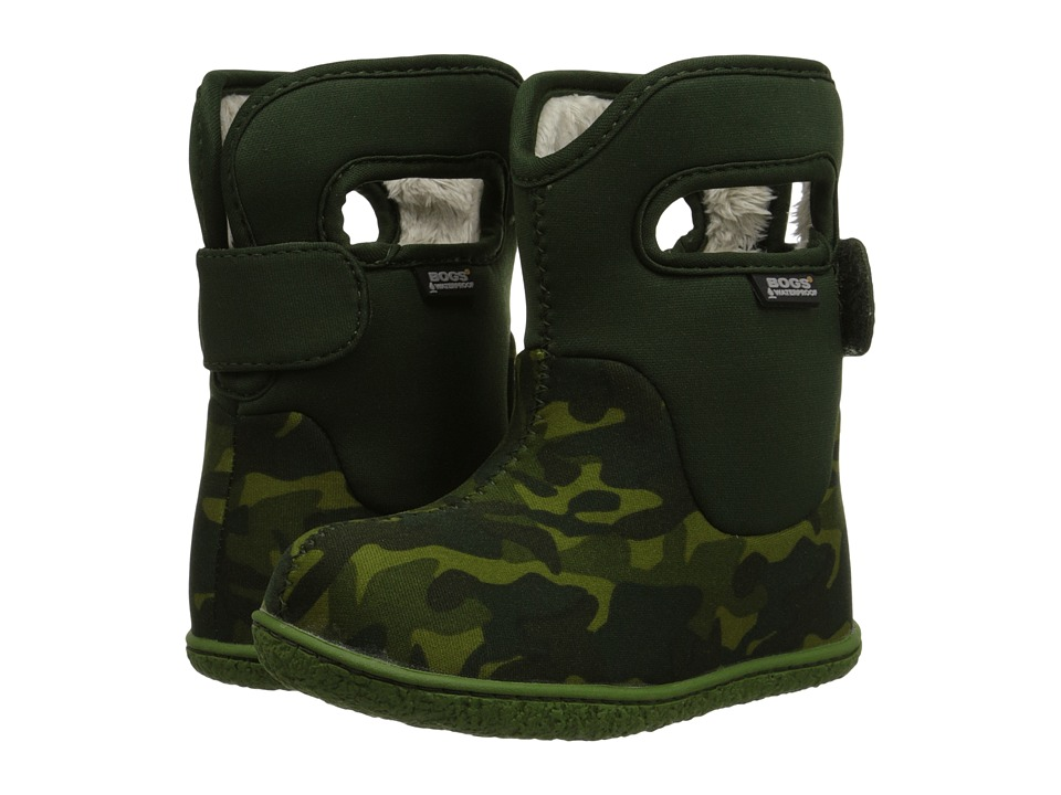 Bogs Kids - Classic Camo (Toddler) (Green Multi) Kids Shoes