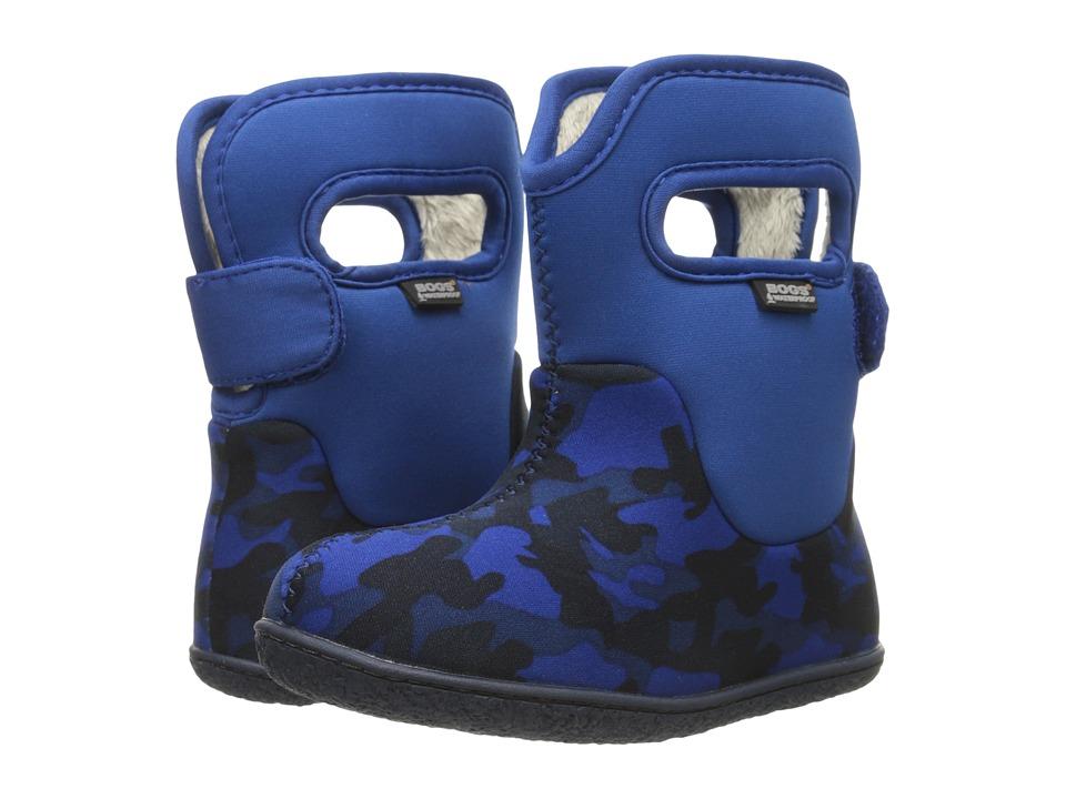 Bogs Kids - Classic Camo (Toddler) (Royal Multi) Kids Shoes