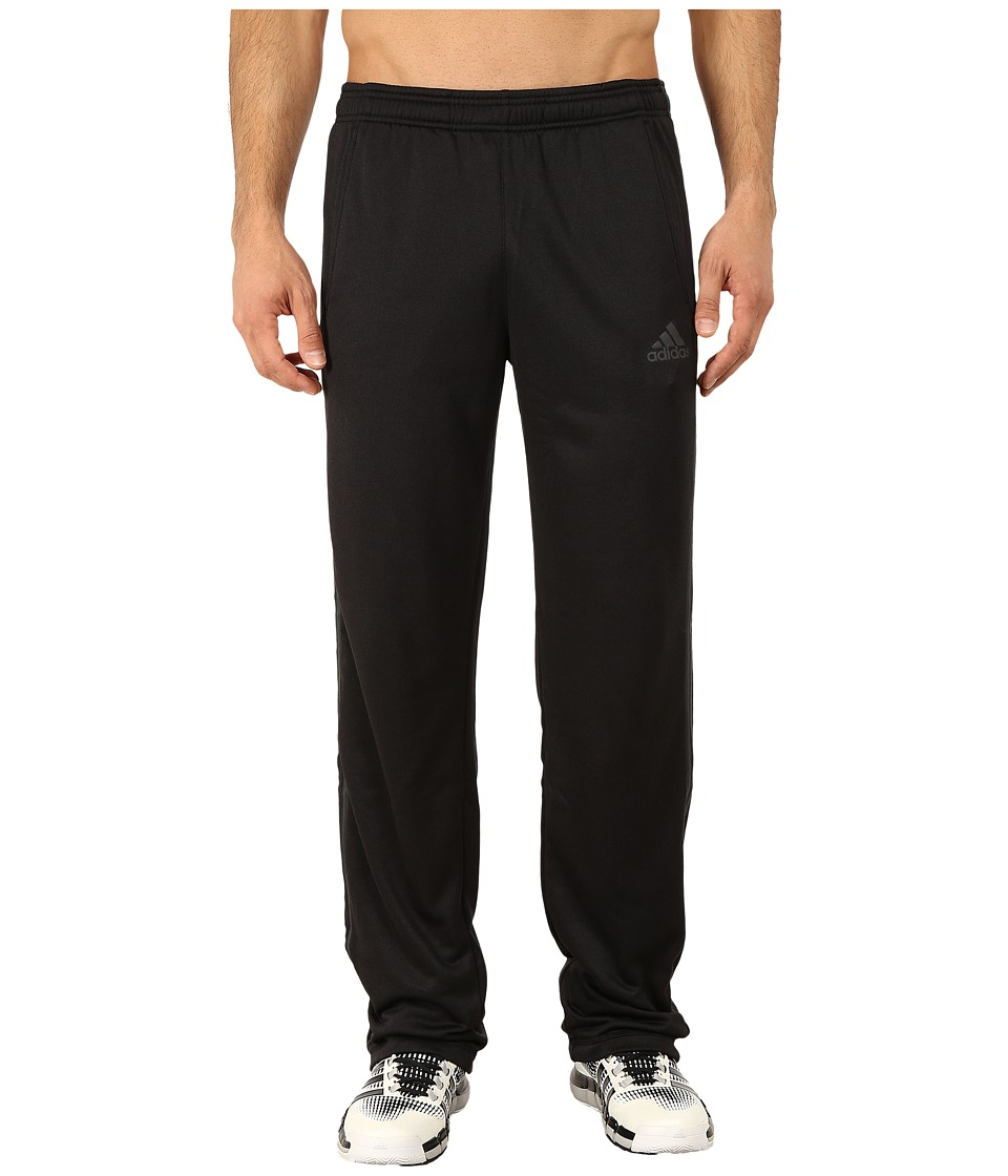 adidas - Ultimate Fleece 3S Pants (Black/DGH Solid Grey) Men's Workout