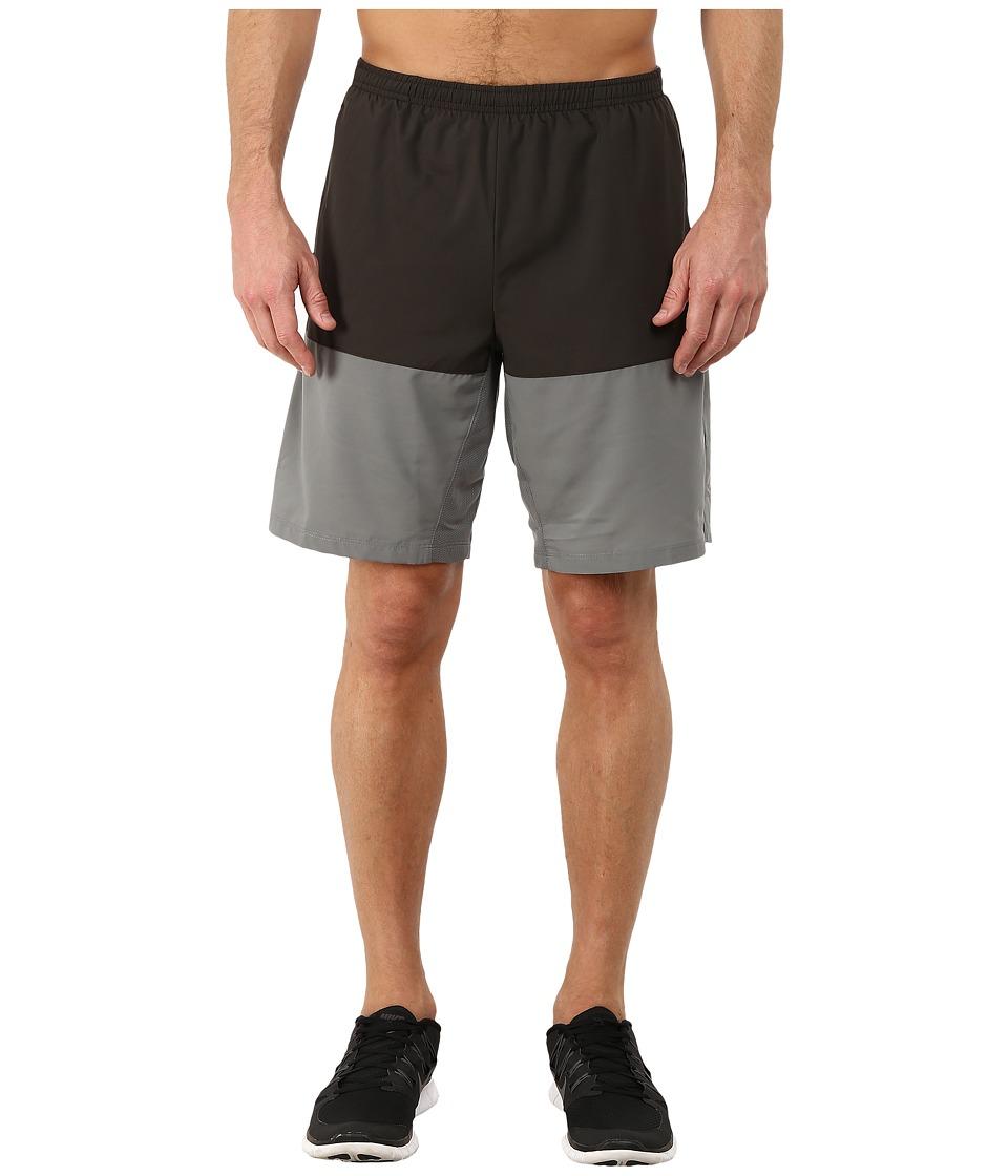 Nike - 9 Distance Short (Deep Pewter/Tumbled Grey/Reflective Silver) Men's Shorts