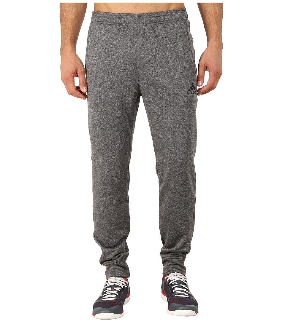adidas - Ultimate Fleece Tapered Pants (DGH Solid Grey/Black) Men's Workout