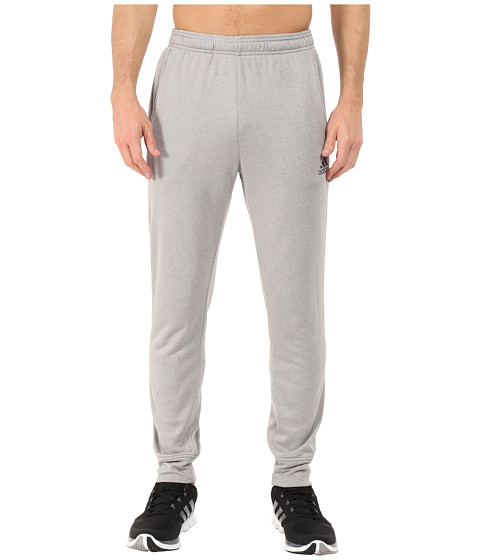 adidas - Ultimate Fleece Tapered Pants (Medium Grey Heather) Men's Workout
