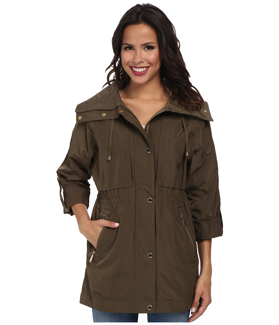 MICHAEL Michael Kors - Draw String Coat (Duffle) Women's Coat