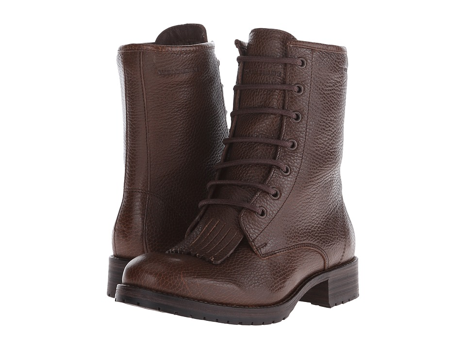 Wolverine - Rosie 6 Kiltie Lace-Up (Taupe Leather) Women's Lace-up Boots