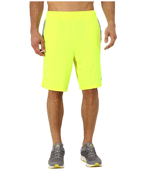 adidas - Ultimate Force 4 Shorts (Solar Yellow/Grey) Men
