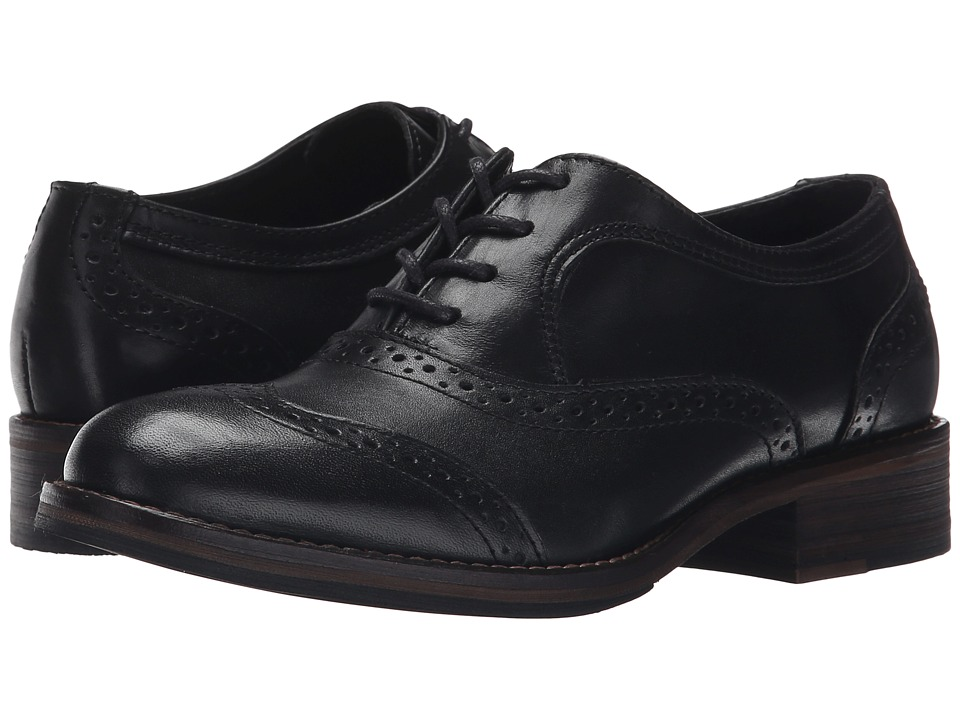 Wolverine - Elsie Oxford (Black Leather) Women's Lace up casual Shoes