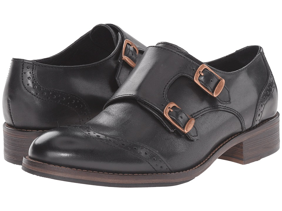 Wolverine Jaden Monk Strap Oxford (Black Leather) Women