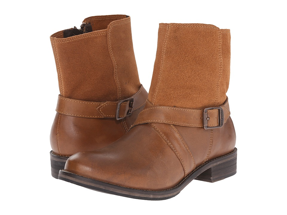 Wolverine - Pearl Ankle Boot (Tan Leather) Women's Boots